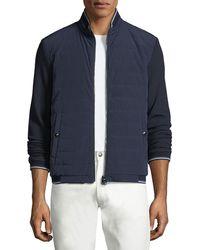Ralph Lauren - Quilted Reversible Baseball Jacket - Lyst