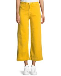M.i.h Jeans - Caron High-rise Cropped Wide Leg Pants - Lyst