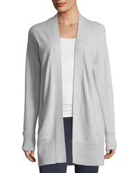 Theory - Open-front Relaxed Cashmere Cardigan Sweater - Lyst