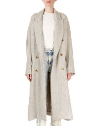 Isabel Marant - Habra Tweed Double-breasted Coat - Lyst