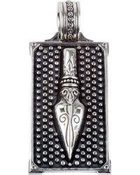 Konstantino - Men's Sterling Silver Arrow Pendant - Lyst