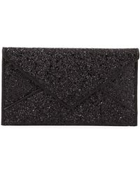 Tory Burch | Glitter Envelope Continental Wallet | Lyst