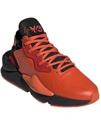 Y-3 Sneakers Red Kaiwa - Orange