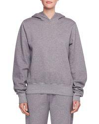 The Row - Wren Hooded Cotton Sweatshirt - Lyst