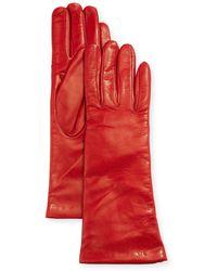 Portolano - Napa Leather Gloves - Lyst
