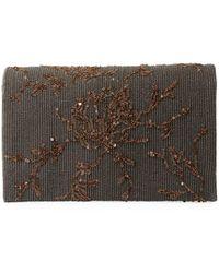 Brunello Cucinelli - Embroidered Leather Crossbody Belt Bag - Lyst