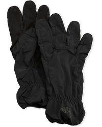 Stone Island - Men's Faux-suede Gloves - Lyst