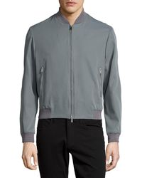 CoSTUME NATIONAL - Zip-front Bomber Jacket - Lyst
