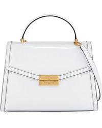 Tory Burch - Juliette Patent Top Handle Satchel Bag - Lyst