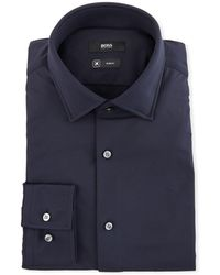 BOSS - Men's Slim Fit Stretch-performance Dress Shirt - Lyst