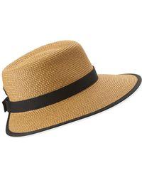 Eric Javits Sun Crest Packable Hat - Multicolour