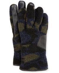 UGG - Men's Fuzzy Knit Smart Gloves - Lyst