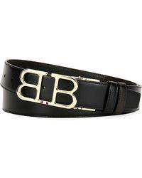 Bally - Men's Britt B-buckle Belt - Golden Hardware - Lyst