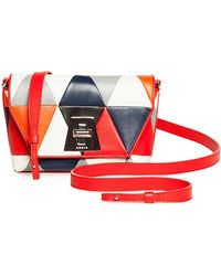 Akris - Anouk Little Day Triangle Shoulder Bag - Lyst