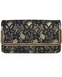 Judith Leiber Couture | Lenox Lace Crystal-trim Clutch Bag | Lyst