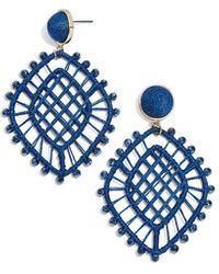 BaubleBar - Dahlia Drop Earrings - Lyst