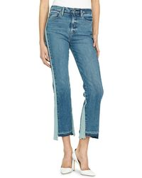 Hudson Jeans - Holly High-rise Cropped Flare-leg Jeans - Lyst
