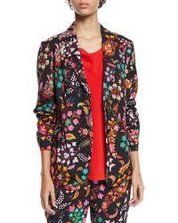 Etro - Paisley-print Blazer Jacket - Lyst