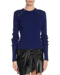 Étoile Isabel Marant - Koyle Ribbed Button-trim Sweater - Lyst