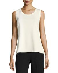 Misook - Scoop-neck Knit Tank - Lyst