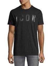 DSquared² - Men's Icon Typographic T-shirt - Lyst