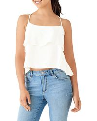 DL1961 - Downing Layered Ruffle Tank - Lyst