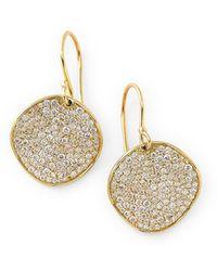 Ippolita 18k Glamazon Stardust Earrings With Diamonds - Metallic