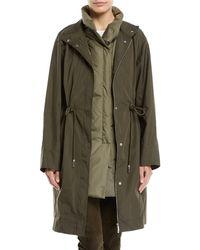 Lafayette 148 New York - Jamyson Terrace Tech-cloth Jacket - Lyst