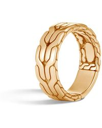 John Hardy - Men's Classic Chain 18k Ring - Lyst