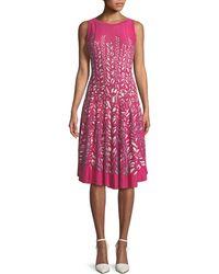 NIC+ZOE - Tango Twirl Sleeveless Fit-and-flare Dress - Lyst