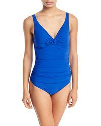 Gottex - Tutti Frutti V-neck Underwire One-piece Swimsuit - Lyst