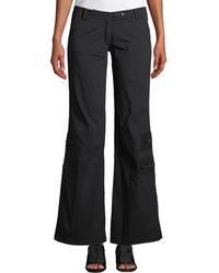 Anatomie - Flare-leg Cargo Pants W/ Zip Pockets - Lyst