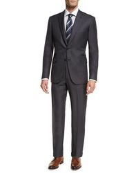 Brioni - Essential Virgin Wool Two-piece Suit Gray - Lyst