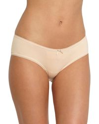 Eberjey - Goddess Pima Cotton Bikini Briefs - Lyst