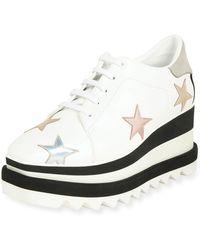 708dd2b04c78 Stella McCartney - Star Elyse Platform Shoes - Lyst