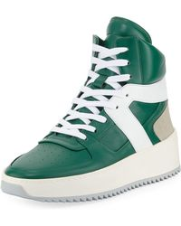 Fear Of God - Men's Leather High-top Basketball Sneakers - Lyst