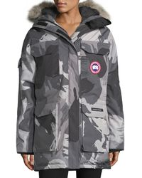 Expedition parka grey brush camo
