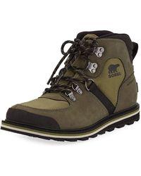 Sorel - Men's Madson Waterproof Suede Hiker Boots - Lyst