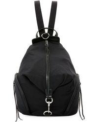 Rebecca Minkoff - Washed Nylon Multi-zip Backpack - Lyst