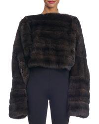 Michael Kors - Oversized Sable Fur Pullover - Lyst