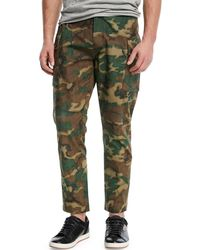 Ovadia And Sons - Storm Camouflage-print Utility Pants - Lyst