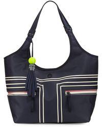 Tory Sport - Coated Bucket Tennis Tote Bag - Lyst