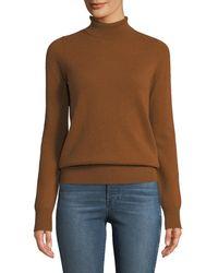 Neiman Marcus - Cashmere Turtleneck Sweater - Lyst