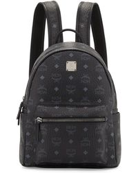 MCM - Stark Small No Stud Backpack - Lyst