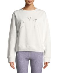 Varley - Knoll Crewneck Logo Sweatshirt - Lyst