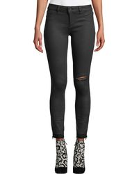 DL1961 Marguax Instasculpt Ankle Skinny Jeans In Habasu - Black