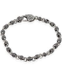 Konstantino - Men's Sterling Silver Mini-link Bracelet - Lyst
