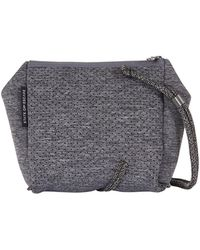 STATE OF ESCAPE - Festival Mini Crossbody Bag Luxe Charcoal Marl - Lyst