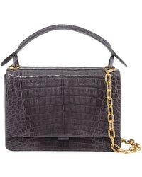 Nancy Gonzalez - Medium Crocodile Top-handle Bag - Lyst