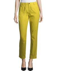 Lafayette 148 New York - Thompson Colored Slim-leg Jeans - Lyst